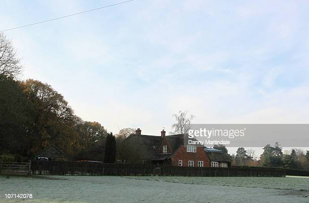 General views of the house where the parents of Kate Middleton Michael and Carole Middleton live on November 24 2010 Bucklebury United Kingdom
