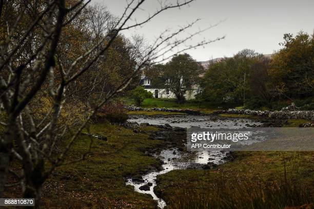 General views of the Isle of Ulva off Scotland's west coast on October 20 2017 When tycoons in helicopters began landing on Scotland's Isle of Ulva...