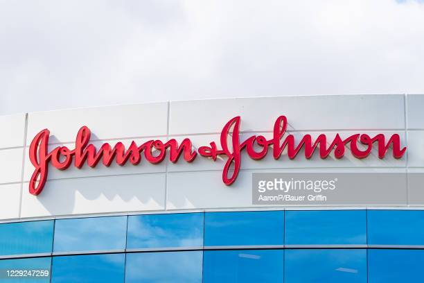 General views of the Johnson & Johnson offices on October 23, 2020 in Irvine, California.