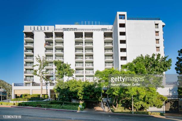 General views of The London West Hollywood at Beverly Hills hotel on August 28, 2020 in West Hollywood, California.