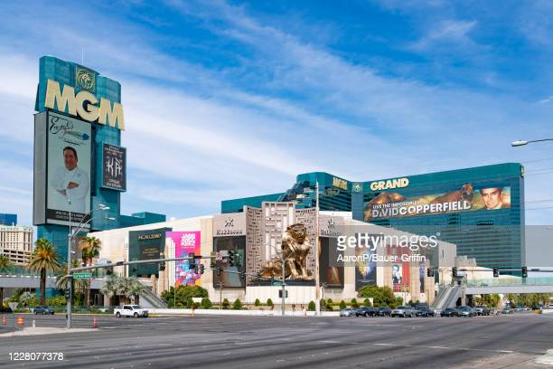 General views of the MGM Grand Las Vegas Hotel & Casino on August 16, 2020 in Las Vegas, Nevada.