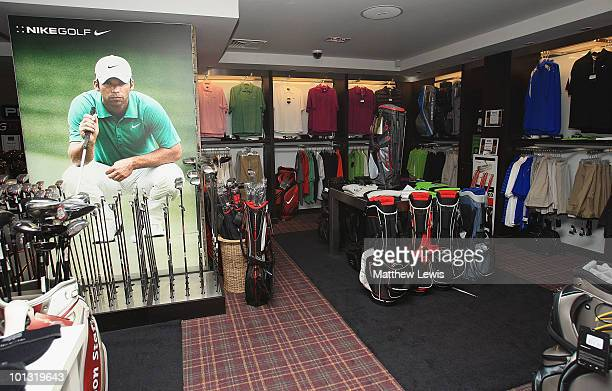 General views of the pro shop during the Business Fort plc English PGA Championship at the De Vere Oulton Hall Golf Club on June 1 2010 in Leeds...
