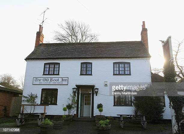 General views of the pub 'The Old Boot Inn' where Kate Middleton has reportedly been seen courting HRH Prince William on November 24 2010 Bucklebury...