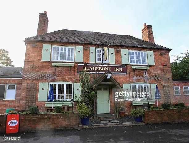 General views of the town pub 'Bladebone Inn' where parents of Kate Middleton Michael and Carole Middleton live on November 24 2010 Bucklebury United...