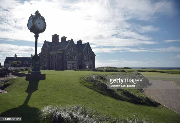 General views of the Trump International golf resort where US President Donald Trump stayed during his three day visit to Ireland on June 7 2019 in...