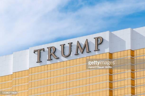 General views of the Trump International Hotel Las Vegas on August 16, 2020 in Las Vegas, Nevada.