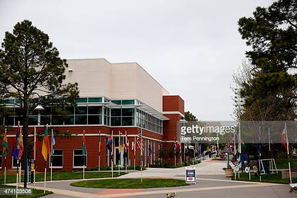 General views of the United States Olympic Training Center on May 14 2015 in Colorado Springs Colorado