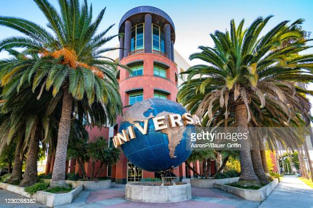 General views of the Universal Music Group corporate offices on December 22, 2020 in Santa Monica, California.