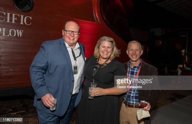 General views of the VIP Party Sponsored by Abrams Artists Agency at The Lake Superior Railroad Museum on October 12 2019 in Duluth Minnesota