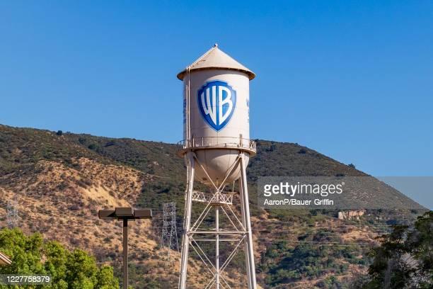 General views of the Warner Brothers film studio lot on July 23, 2020 in Burbank, California.