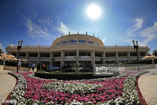 General views of Trump National Doral ahead of the Cadillac Championship on March 2 2016 in Doral Florida