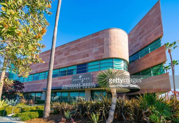 General views of Universal Music Publishing Group on December 22, 2020 in Santa Monica, California.
