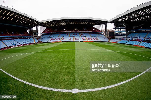 General views of Villa park before the Sky Bet Championship match between Aston Villa and Cardiff City at Villa Park on November 26 2016 in...