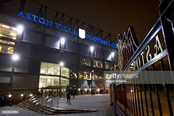 General views of Villa Park before the Sky Bet Championship match between Aston Villa and Leeds United at Villa Park on December 29 2016 in...