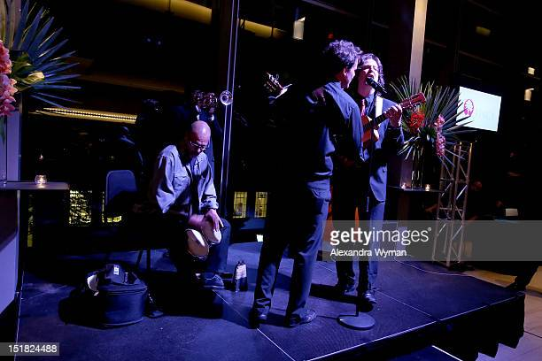 General viiew of the atmosphere at the FINCA Canada Fundraiser At TIFF 2012 during the Toronto International Film Festival on September 11 2012 in...