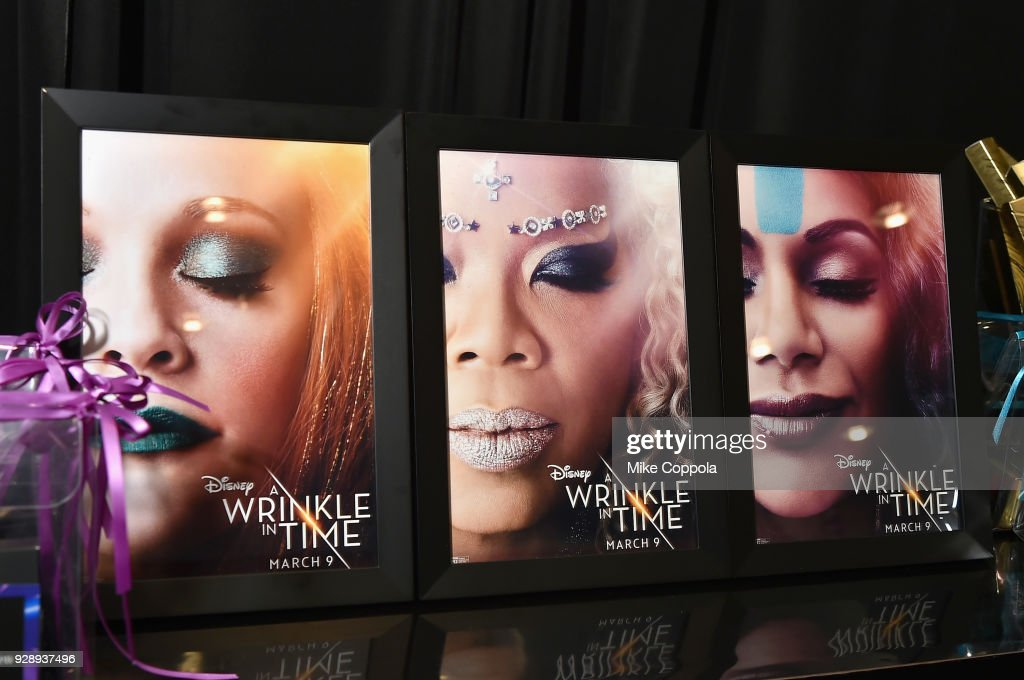 O, The Oprah Magazine Hosts Special NYC Screening Of 'A Wrinkle In Time' At Walter Reade Theater : News Photo