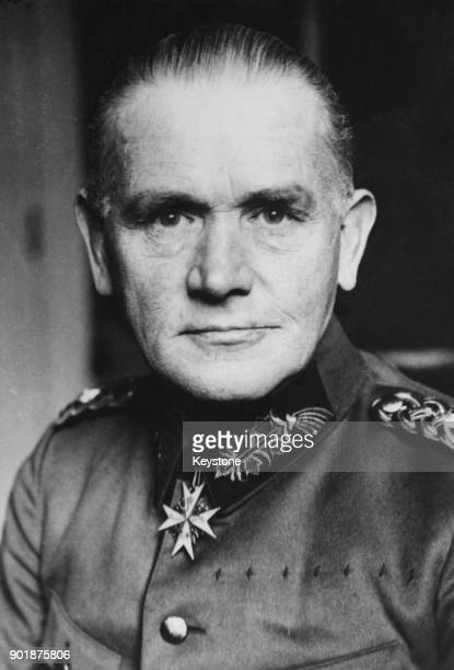 General Werner Von Blomberg of the German Armed Forces circa 1935