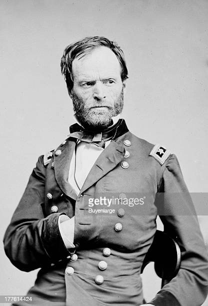General William Tecumseh Sherman businessman educator author 1864 Called the first modern general he was criticized for his 'scorched earth' policies...
