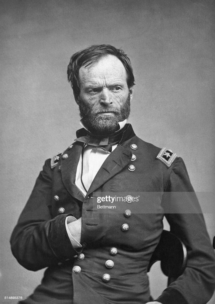 General William Tecumseh Sherman : News Photo