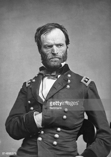 General William Tecumseh Sherman famed for his march through Georgia