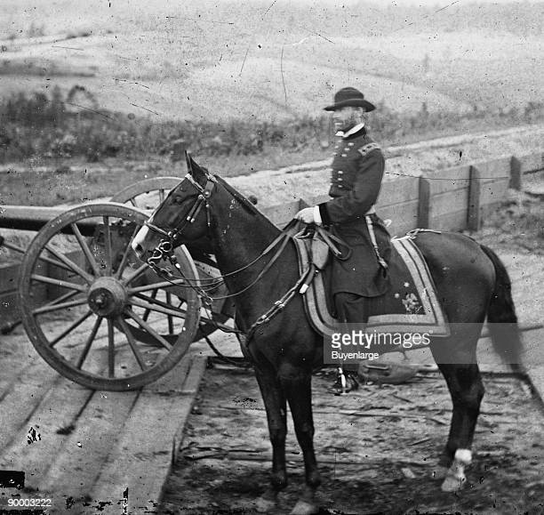 General William Tecumseh Sherman on Horseback