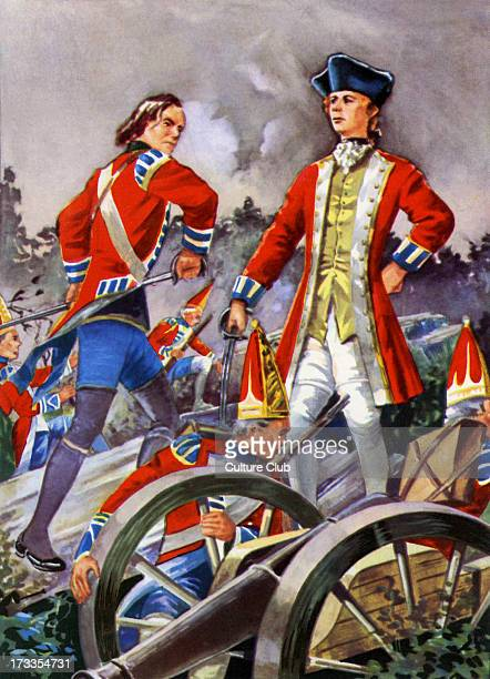 General Wolfe at the Battle of Quebec General James Wolfe lead the British forces against the French on the 'Plains of Abraham' in the French Indian...
