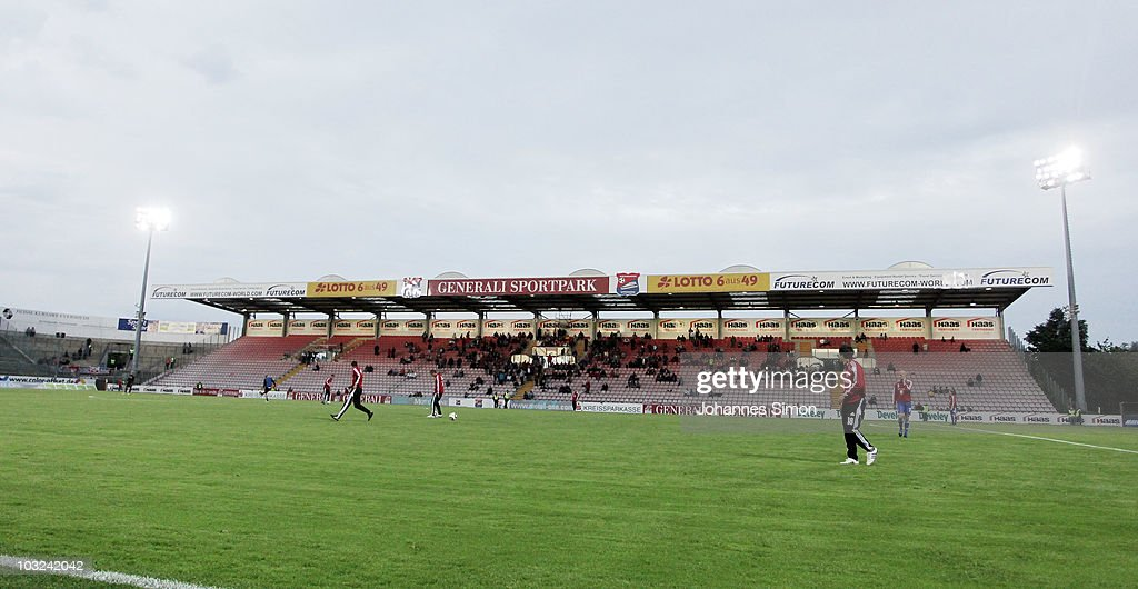 SpVgg Unterhaching v Rot Weiss Ahlen - 3. Liga : News Photo