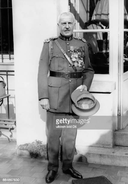 Generalleutnant Belgien Robert Sennecke Originalaufnahme im Archiv von ullstein bild