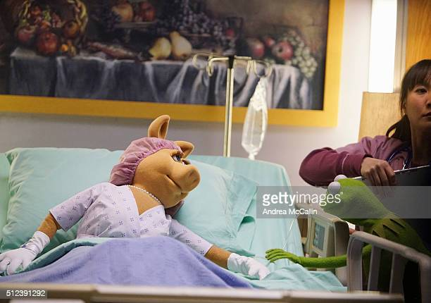 THE MUPPETS 'Generally Inhospitable' When Miss Piggy breaks her leg rehearsing a dance number Kermit gathers the crew and they broadcast 'Up Late'...