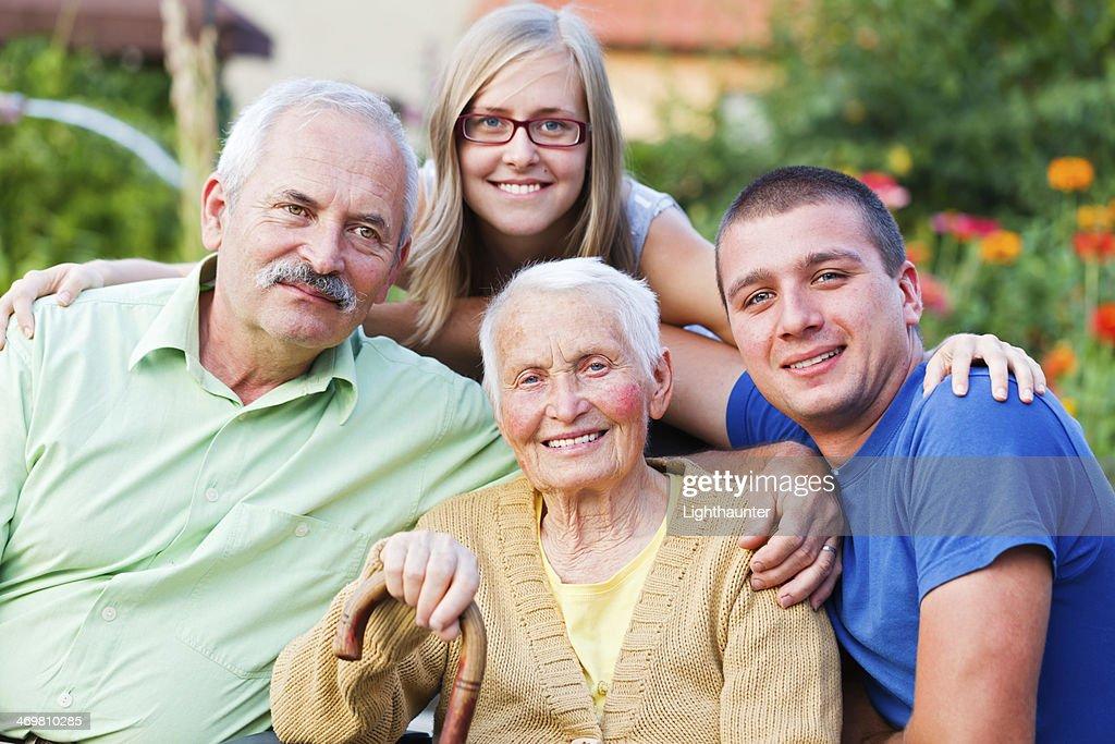 фото галерея старики с молодыми
