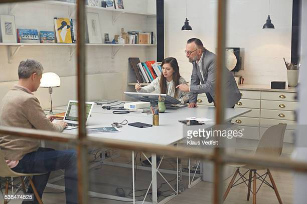 3 generations working at small design agency
