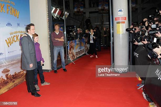 Genereal overview of 'Tom Sawyer Huckleberry Finn' Germany Premiere at Kino in der KulturBrauerei on December 16 2012 in Berlin Germany
