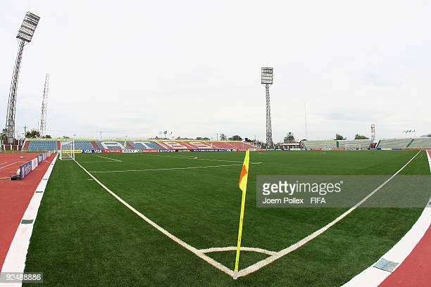 A generel view of the Abubakar Tafawa Balewa stadium on October 29 2009 in Bauchi Nigeria