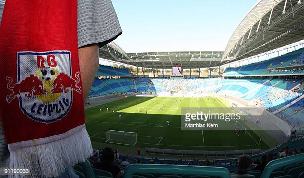 Generel view prior to the League Five match between RB Leipzig and 1FC Lok Leipzig at the Zentralstadion on September 27 2009 in Leipzig Germany