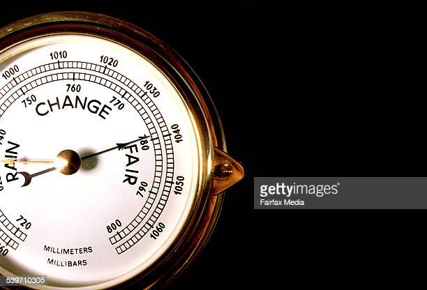 Generic Barometer 24 June 1997 AFR Picture by MICHELE MOSSOP