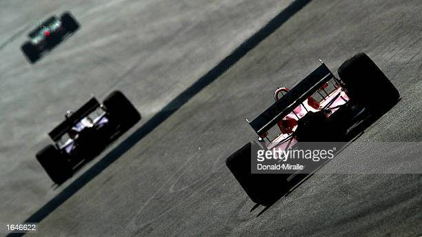 Generic champcars during qualifying for the Gran Premio GiganteTelmex round 19 of the CART Fed Ex Championship Series on November 16 2002 at the...