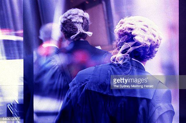 Generic court, barrister, judge, law, 30 March 1998. SMH Picture by FRANCES MOCNIK