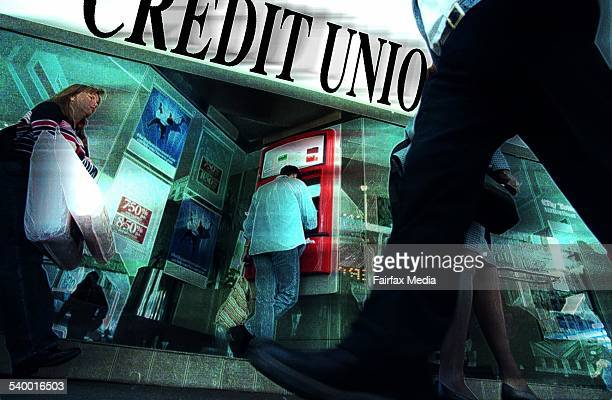 Generic credit union 9 June 1998 AFR Picture by ROB HOMER