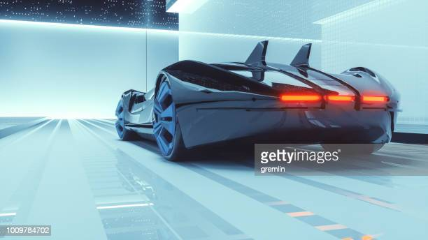 Generic futuristic sports car concept