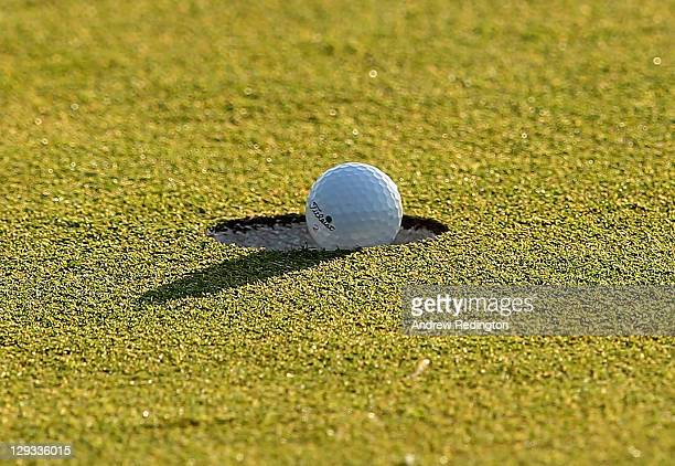 Generic golf during the final round of the Portugal Masters at Oceanico Victoria Golf Course on October 16 2011 in Vilamoura Portugal