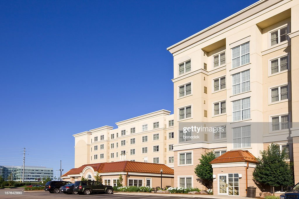 Generic Hotel Building : Stock Photo