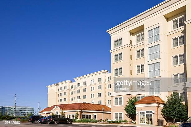 generic hotel building - generic location stock pictures, royalty-free photos & images