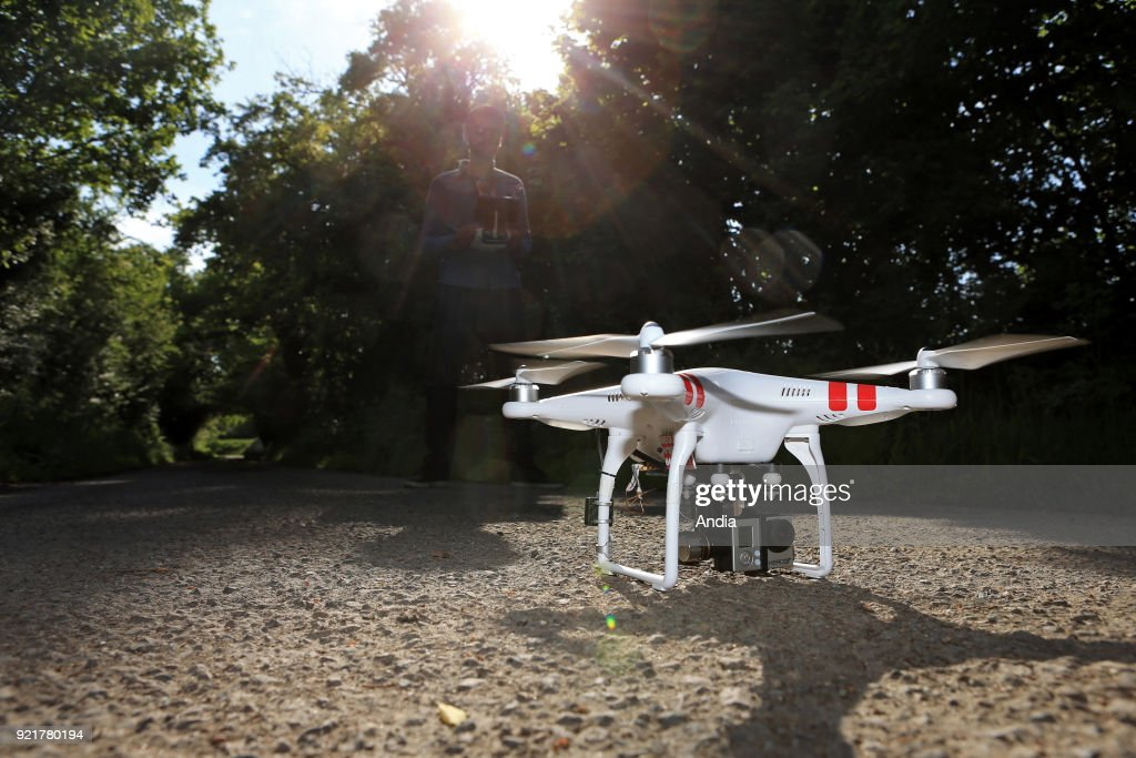 UAV pilot. : News Photo