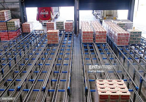 Generic image of the Coca Cola distribution centre in Moorabin 16 June 2004 AFR Picture by NIC KOCHER
