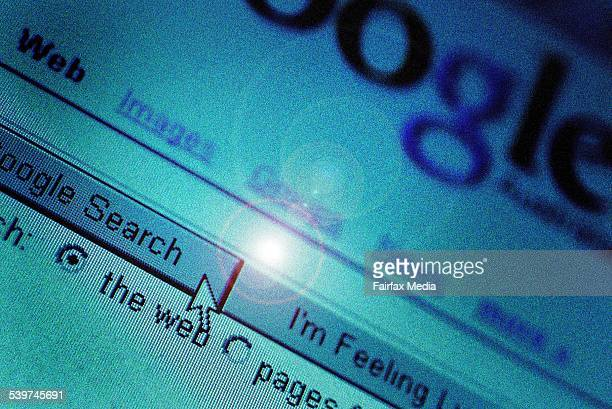 Generic internet search engine, 17 August 2005. AFR Picture by LOUISE KENNERLEY