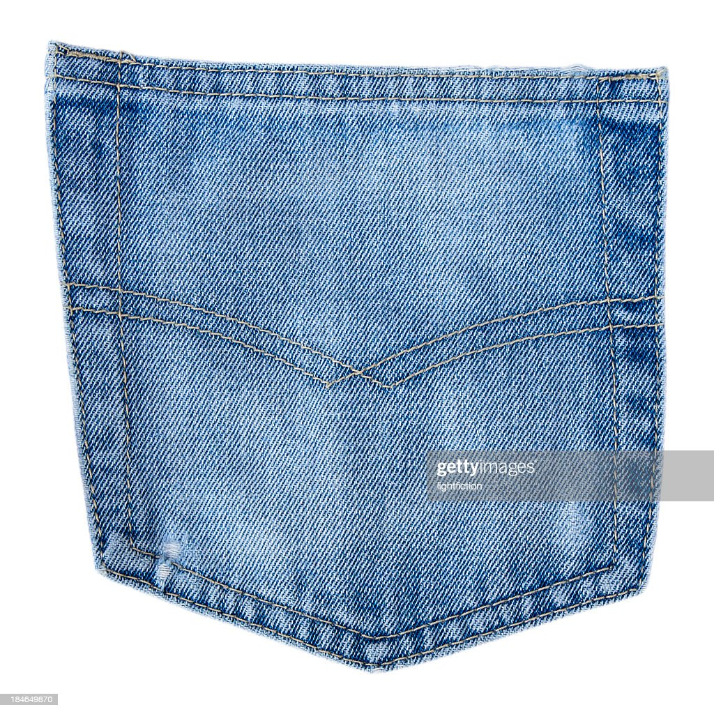 Generic jeans pocket : Stock Photo