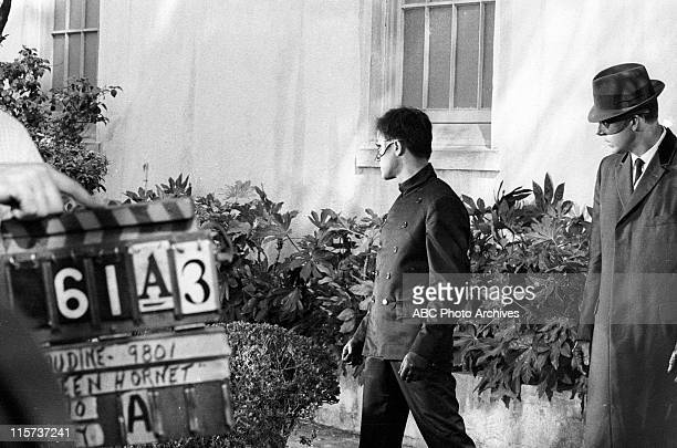 HORNET Generic Location Shooting Shoot Date June 4 1966 PRODUCTION SHOT OF BRUCE LEE AND