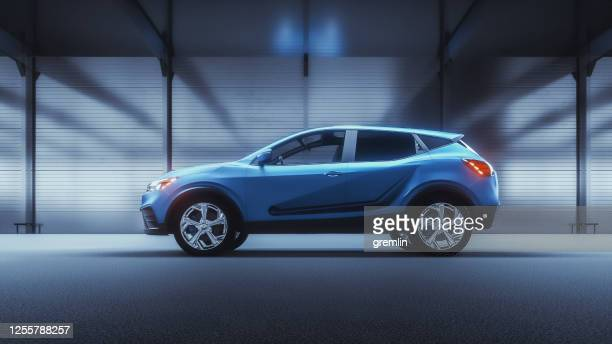 generic modern car as product shot - launch event stock pictures, royalty-free photos & images