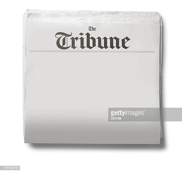 generic newspaper - front page stock photos and pictures