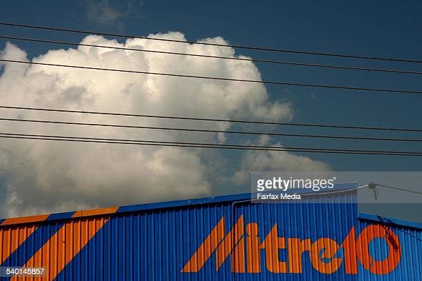 A Generic photo of a Mitre 10 hardware store Pic Glenn Campbell